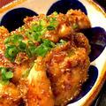 鶏ササミのマヨポン照り焼き