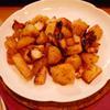 タコとジャガイモのガリシア風〜焦がしにんにく風味