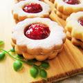 苺のジャムサンドクッキー♡春休みのおやつ*プレゼント*母の日にも♪苺の美味しい季節のお菓子♡