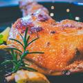 ホロッホロ♪骨付き鶏もも肉の香草焼き