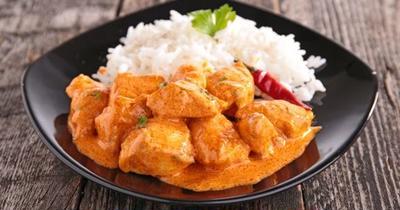 スペイン流チキンカレー/Pollo al curry