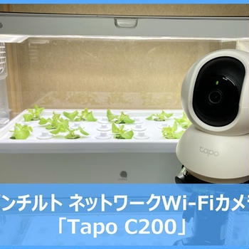 【レビュー】「TP-Link Tapo C200」パンチルトネットワークWi-Fiカメラでお手軽リモート監視