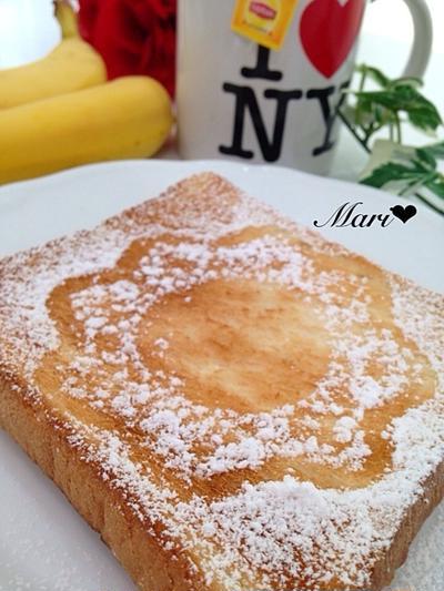 「リプトンひらめき朝食」いつものトーストに魔法を♬*。