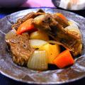 スペアリブの肉じゃが・中華風 ♪