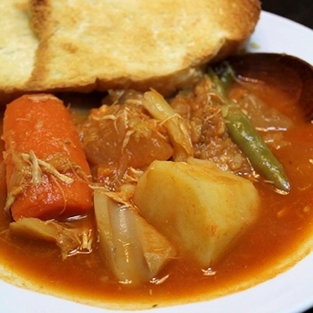 トマトシチュー・鍋の底
