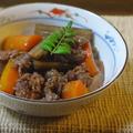 牛肉と根菜しぐれ煮