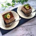 火を使わない♪バナナココアムースケーキ by TOMO(柴犬プリン)さん