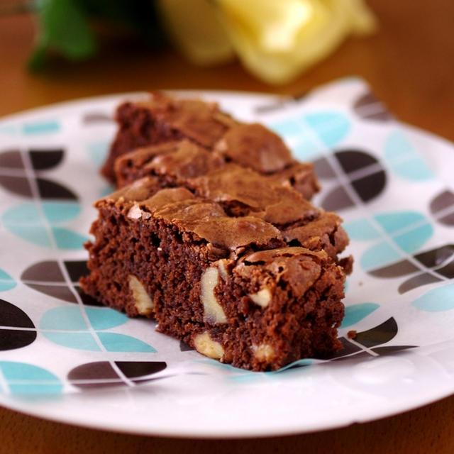 ホットケーキミックス(HM)で簡単本格チョコレートブラウニー