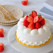 苺のお誕生日ケーキ