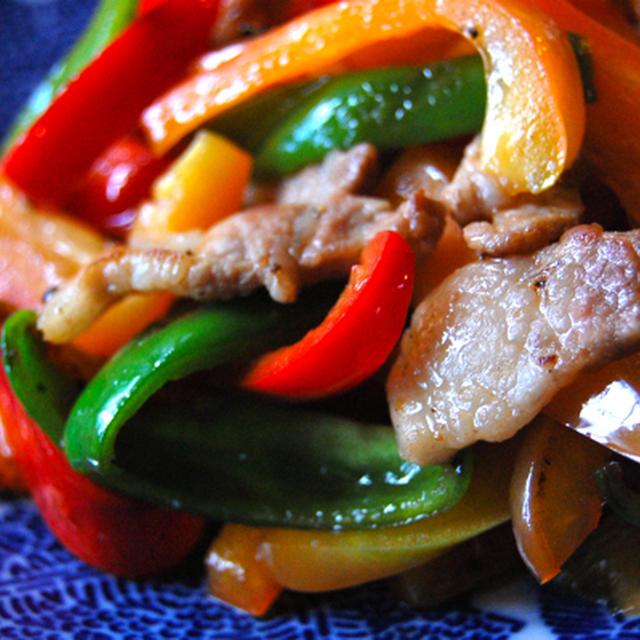 チャーミングな干し豚と野菜の炒め物3種