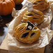ハロウィンに♪かぼちゃのミートパイ