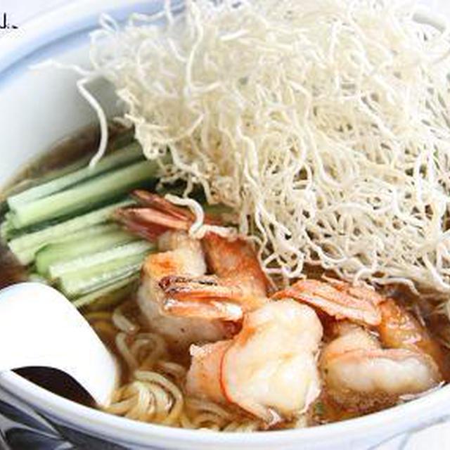 広東風~海老キュー拉麺