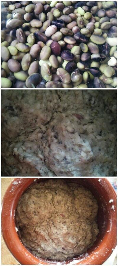 黒大豆の枝豆で手前味噌