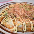 【レシピ】山芋1本と白玉粉でお好み焼きっぽいもの