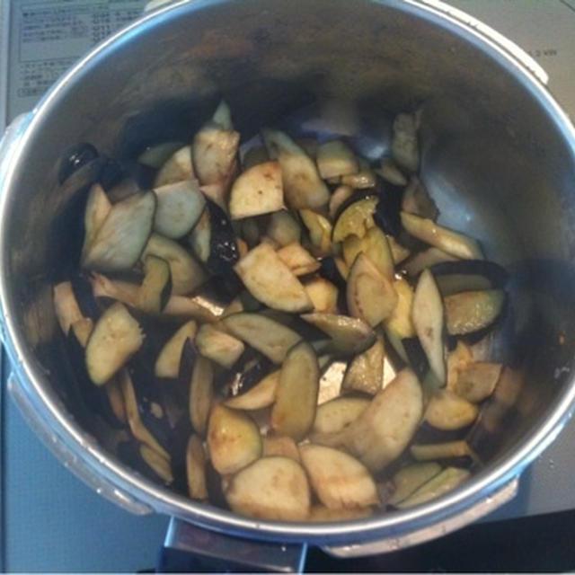 ダイエットレシピ「茄子と豆腐」