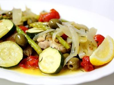 >鶏もも肉と夏野菜、ローズマリーの香り by jugonさん