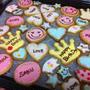 名前入りアイシングクッキー☆喜ばれるデコクッキー