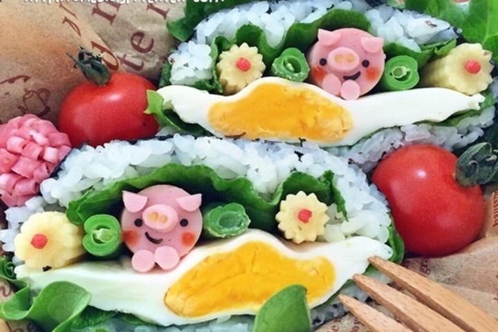 ここまで進化!今年の春はキュートな「デコおにぎらず」で花見やピクニックを楽しもう!の画像7