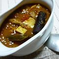 ポークとレンズ豆の煮込みカレー