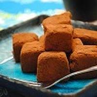 ヘルシー♪ お豆腐で 生チョコ風 ☆