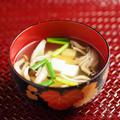 しめじと豆腐の吸い物 、 出汁パックで簡単、おいしいレシピ