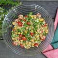 Chickpea and Bulgur Wheat Salad ひよこ豆とブルグルのサラダ