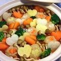 バレンタインに♪情熱の赤いお鍋 ! ハートいっぱいのトマト鍋 by TOMO(柴犬プリン)さん