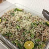 シークヮーサーで味わいアップ!PTA懇親会で作った、パクチー春雨サラダ|10月30日(日)は杉並区でパパ子料理教室。参加者募集中。お土産付き