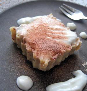 さつま芋とヨーグルトのヘルシーケーキ (10min.)