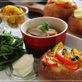 根菜たっぷりお野菜ランチプレート*レシピあります♪