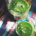 小松菜とキウイのグリーンスムージー