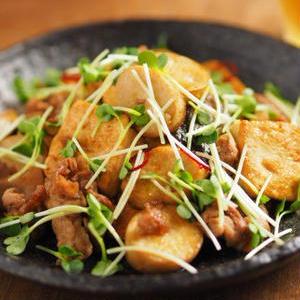 オイスターソースでコク旨!「豆腐と野菜」のご飯がすすむおかず