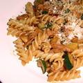 イタリア大衆食堂風ズッキーニのフジッリ