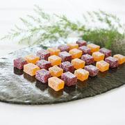 マンゴーとラズベリーのゼリー菓子