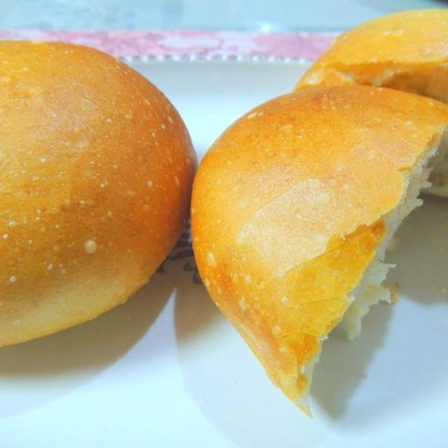 ホームベーカリーで簡単☆ソフトフランスパン(丸フランスパン)