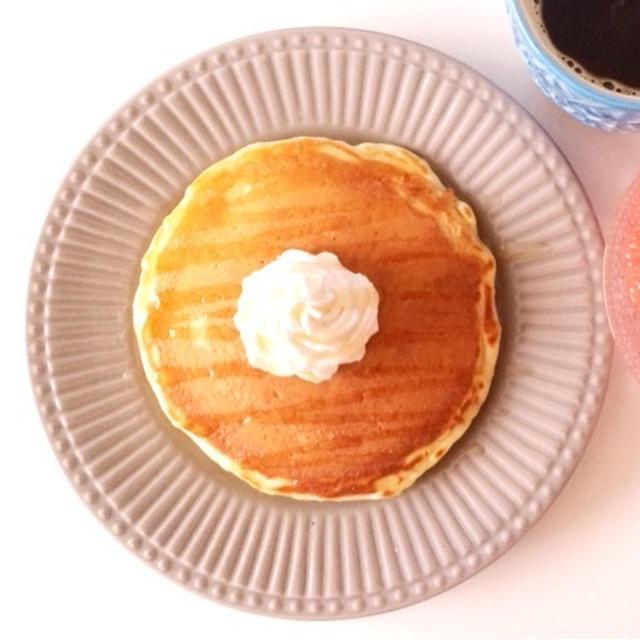ヨーグルトパンケーキ