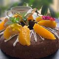 今日も試作品です~高学年用レッスンはエンゼル型チョコレートケーキです!!ポーチュラカ植えました