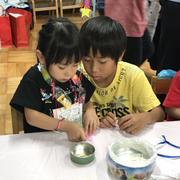幼稚園のバザーに行った~!!