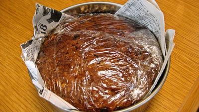 ドライフルーツのパウンドケーキ(熟成版)