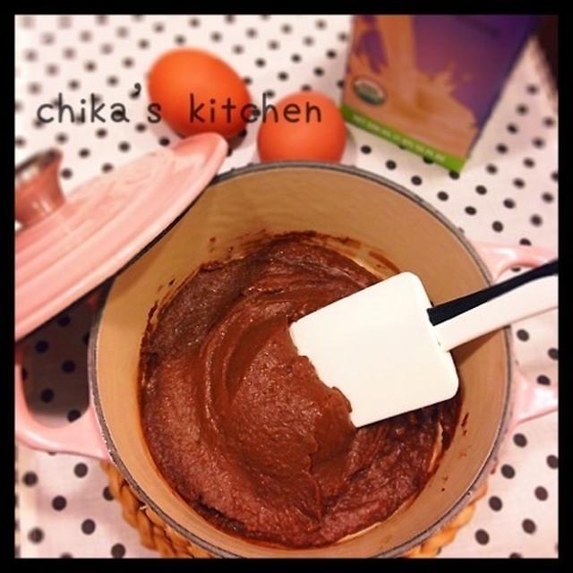 簡単チョコクリーム♡ と お手伝いのヤル気アイテムとアンパンマンで♡