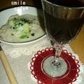 今夜は赤ワイン&シチュー