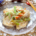 鶏胸肉とブロッコリーの茎のもやし炒め【節約ダイエットおかず】|レシピ・作り方 by 筋肉料理研究家Ryotaさん
