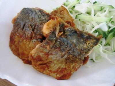 夏におすすめ☆鯖のケチャップ風味