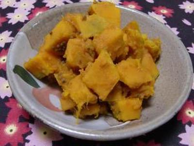 暑いときもインド料理でテンションを上げよう!! インドの野菜マジック!! かぼちゃのサブジ