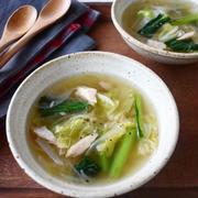 ツナでマイルド【ツナと白菜のくたくたスープ】簡単