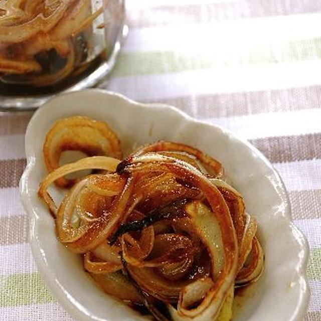 焼き玉ねぎのバルサミコマリネ