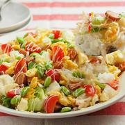 コンビニ食材でつくる、洋風ヨーグルトちらし寿司