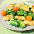 夏はこれでしょ♪夏野菜と鶏のささみのカレー風味炒め