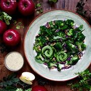 野菜を美味しく食べましょう!!りんごのドレッシング。