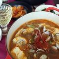 今日の韓国料理レッスン*スンドゥブチゲ♪